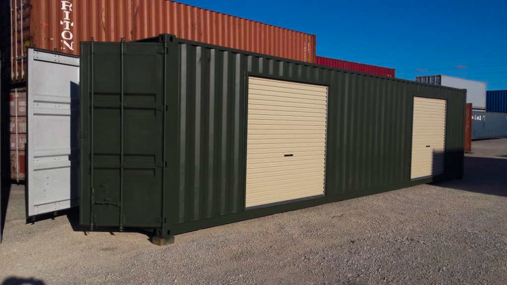 Shipping Container Sales, Hire & Transport in New England