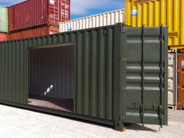 Hiring Containers in New England